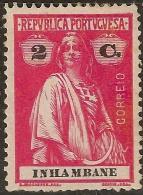 Inhambane - 1914 Ceres Type - Inhambane