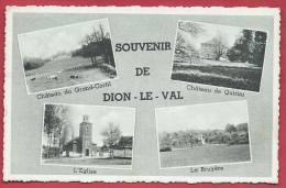 Dion-le-Val - Souvenir De ...- Carte Mutiques - 1962 ( Voir Verso ) - Chaumont-Gistoux