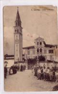 SAN QUIRINO PORDENONE VILL CATTANEO ANIMATISSIMA VIAGGIATA IL 28/5/1912 SCANSIONE FRONTE RETRO - Pordenone