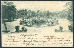1900 Hong Kong Botanical Gardens Postcard - France Montcenis A Macon Corps Expeditionnaire Francais China Chine Zouaves - Hong Kong (...-1997)