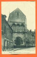 """Dpt  80  Ham   """" Eglise Notre Dame - Le Grand Portail """" - Ham"""