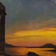 Greece - Postcard Circulated In 1979  - Sounion - Sunset From The Poseidon Temple  - 2/scans - Olympic Games