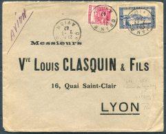 1942 France Algeria Oran Cover - Vve Louis Clasquin & Fils Lyon - Algeria (1924-1962)