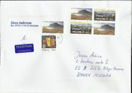 SUECIA CC SELLOS LAPONIA ARTICO NATURALEZA - Filatelia Polar