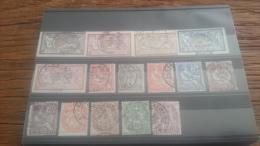 LOT 254173 TIMBRE DE COLONIE ALEXANDRIE OBLITERE N�19 A 33 VALEUR 60 EUROS