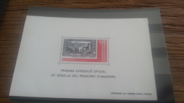 LOT 254210 TIMBRE DE ANDORRE NEUF** LUXE