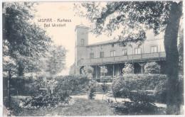 WISMAR Kurhaus Seebad Wendorf Gartenseite Feldpost 14.8.1918 gelaufen TOP-Erhaltung