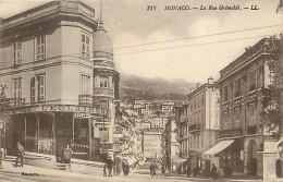 Réf : D-15-800  : MONACO RUE GRIMALDI - Monaco