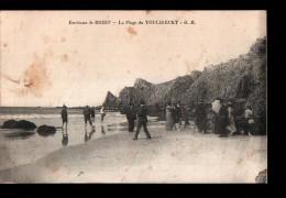 29 CAMARET SUR MER Plage De Toulinguet, Animée, Ed GB, Environs De Brest, 190? - Camaret-sur-Mer