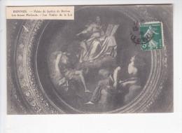 RENNES  (35- Ile Et Vilaine), Palais De Justice, Les Beaux Plafonds, Les Tables De La Loi, Ed. J. Sorel 1915 - Rennes