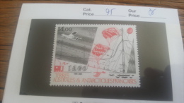 LOT 254321 TIMBRE DE COLONIE TAAF NEUF** N�95