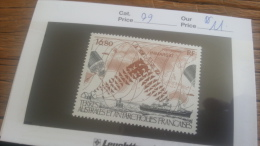 LOT 254323 TIMBRE DE COLONIE TAAF NEUF** N�99