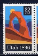 USA 1996 2684. UTAH 1896 - Unused Stamps