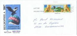 PAP31 - PAP Entier Postal Lettre Charte De L'Environnement Avec Repiquage Privé Aigle De Fernet-Branca - Protection De L'environnement & Climat