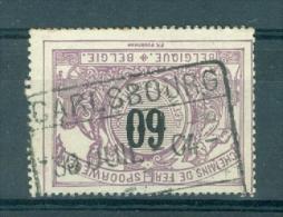 """BELGIE - OBP Nr TR 22 - Cachet  """"CARLSBOURG"""" - (ref. VL-6205) - Chemins De Fer"""