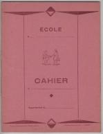 CAHIER D´ ÉCOLIER - Neuf - Couleur Rose - Les Presses Du Massif Central à GUÉRET  - 3 Scannes. - Other Collections