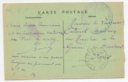 1933 - RARE CARTE FM De La PRISON MILITAIRE De KENITRA (MAROC) - Marcophilie (Lettres)