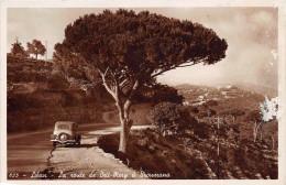 LIBAN  -  La route de Beit -Mery � Broumana ( automobile )(ann�es  1940 /45 )