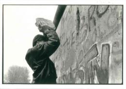 CARTOLINA  BERLIN NACH DEM 9.11.1989 DIMENSIONI CM 10,5x15 CONDIZIONI OTTIME - Fotografia