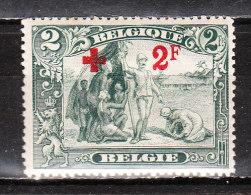 161*  Croix-Rouge - UNE bonne valeur - MH* - Petites taches de rouille - LOOK!!!!