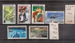 AUSTRALIE / AUSTRALIA  Antarctique Timbres De 1966/ 1971   ( Ref 584 ) - Australian Antarctic Territory (AAT)