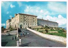 K3566 Cassino (Frosinone) - Abbazia Di Montecassino - L'Ingresso / Viaggiata - Altre Città