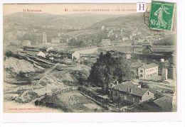 CPA (12) CRANSAC & CAMPAGNAC - Vue De L´Ouest  . (015) - Francia
