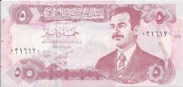 5 Dinars 1992 - Iraq