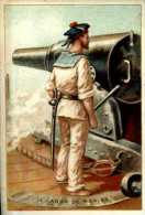 Militaria Le Canon De Marine - Chromos