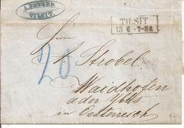 1863 - TILSIT, Gute Zustand, 3 Scans - 1857-1916 Empire