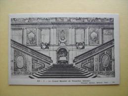 Le Grand Escalier De Versailles. - History