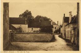MIGE (Yonne) -- UN  COIN  DU  PAYS       Aderances Au Dos Coté Gauche Défauts état - Autres Communes