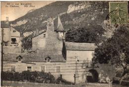 Cpa LA MALENE,  Entrée Du Château (45.20) - France