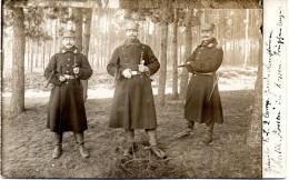 Original AK Foto Deutsche Soldaten - Feldpost 19.03.15  - 1. WK