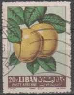 N° PA 269 O Y&T 1962 Fruits (Pommes Jaunes) - Liban