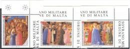 SMOM 2007 BEATO ANGELICO - INCORONAZIONE VERGINE - INTEGRI - Sovrano Militare Ordine Di Malta