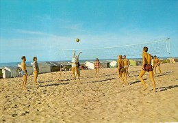 VOLLEYBALL SUR LA PLAGE-sport - Volleyball