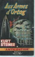 FLEUVE NOIR ANTICIPATION  N° 155  -  KURT STEINER - Fleuve Noir