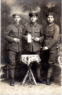 Original AK Foto Deutsche Soldaten - Feldpost 27.12.18 BLAICHACH  - 1. WK