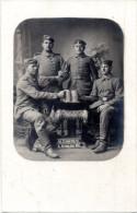Original AK Foto Deutsche Soldaten - Feldpost 5.Nov.14 GERMERSHEIM  - 1. WK