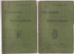ELEMENTS DE SYLVICULTURE 2 Volumes, Comte Félix GOBLET D'ALVIELLA , Weissenbruch Imprimeur,1919 - Sciences
