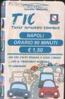 Biglietto TIC  Napoli 2015 da 1,50� usato