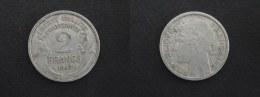 1947 - 2 FRANCS MORLON ALUMINIUM - FRANCE