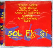 CD Sol En Si Volume 3 Souchon Lara Cabrel Maurane Le Forestier Jonasz & Zazie - Hit-Compilations
