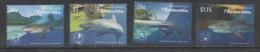 MICRONESIA , 2015, MNH,MARINE LIFE, SHARKS,4v - Maritiem Leven