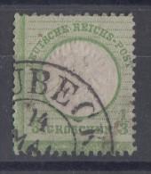 DR Minr.17 Gestempelt Hufeisenstempel Lübeck - Deutschland