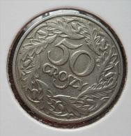 Poland 50 Groszy 1923 AUNC - Polen