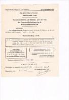 Diksmuide 1942 Gemeentebelastingen Op De Rioolverbindingen - Documents Historiques