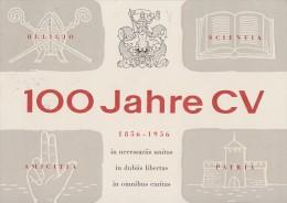 Bund Privat-Postkarte Luftpost Zur 70. Cartellversammlung München 26-30.7.56 SST - BRD