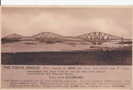 1920 CIRCA THE FORTH BRIDGE - Scotland